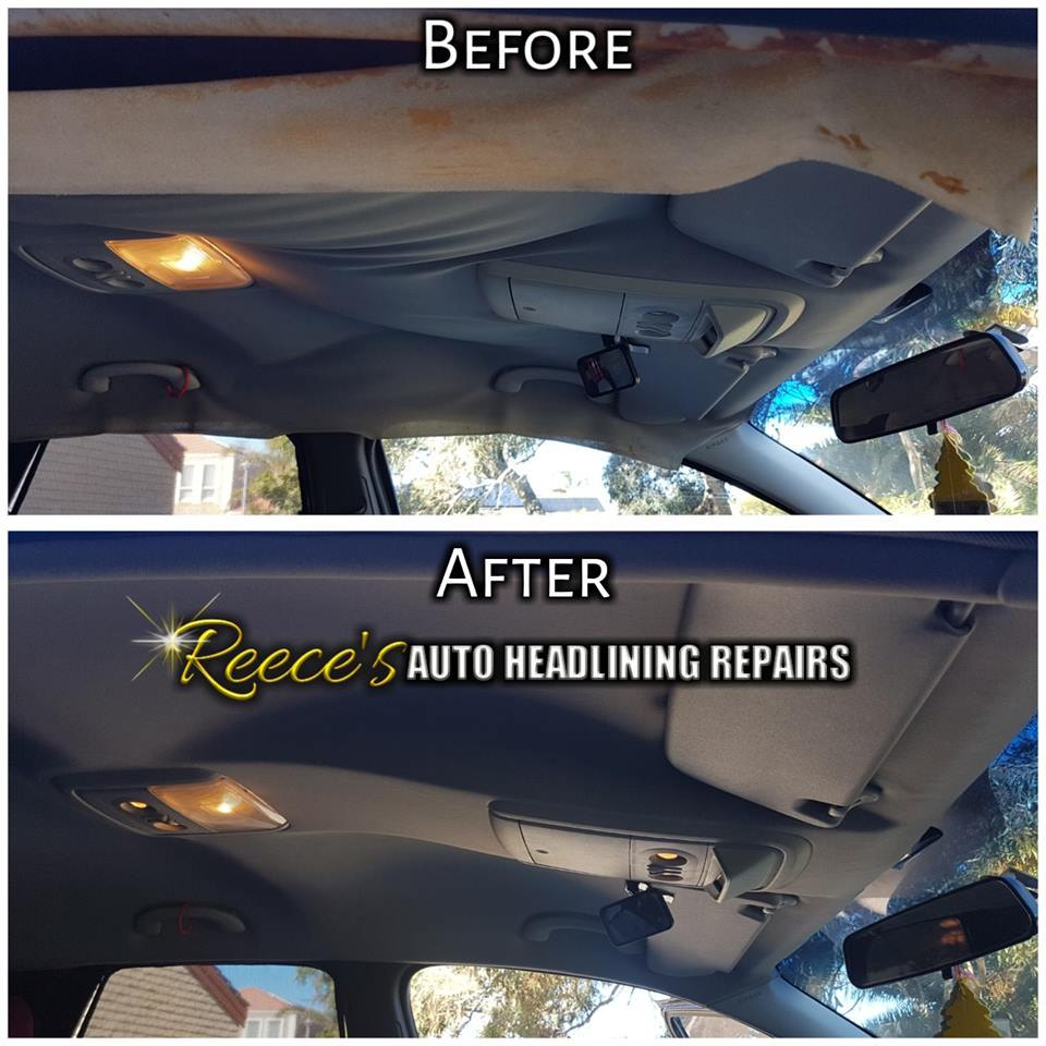 Home Reeces Auto Headlining Repairs