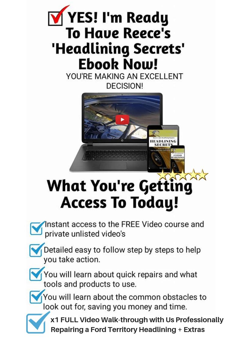 Ford Territory Walk Through Headlining Secrets Ebook